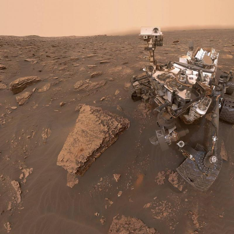 Curiosity rover has detected high amounts of methane in the Mars atmosphere. June 24, 2019