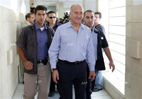 Israel's ex-PM Olmert released from prison