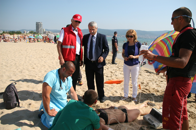 Bulgarian Red Cross to join marking of 2nd anniversary since Burgas terrorist attack with special demonstration of how to react and render help in times of extreme situations.