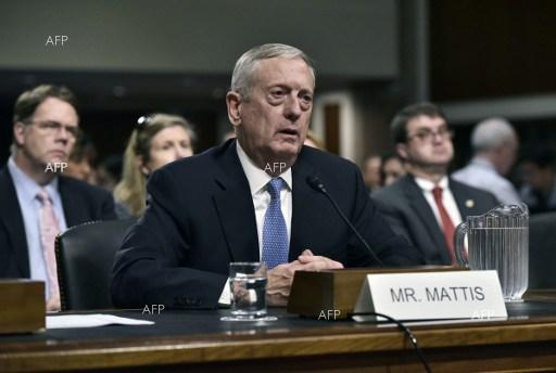 DNA: US Defense Secretary Mattis says Syria retains chemical weapons