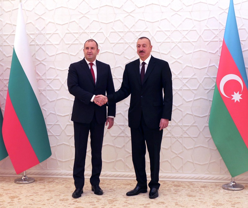 President Rumen Radev in Baku: Bulgaria reaffirms its support for the Southern Gas Corridor