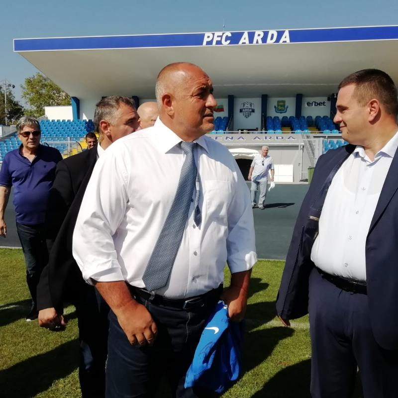 PM Boyko Borissov: Government is implementing consistent policy to build and renovate sports facilities across the country