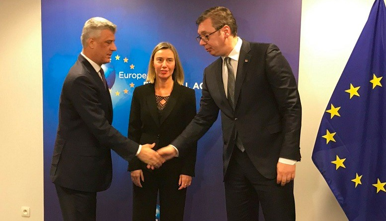 Vucic-Thaci meeting in Brussels ends without result. July 18, 2018;