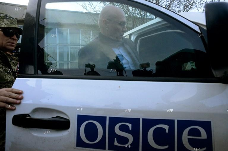 Ukraine opens probe into OSCE mission's vehicle blast