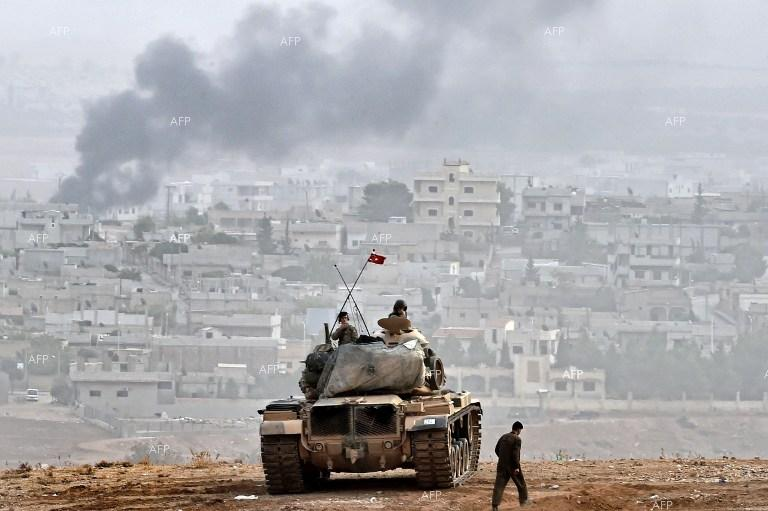 AFP: Turkish forces surround Afrin city in Syria operation