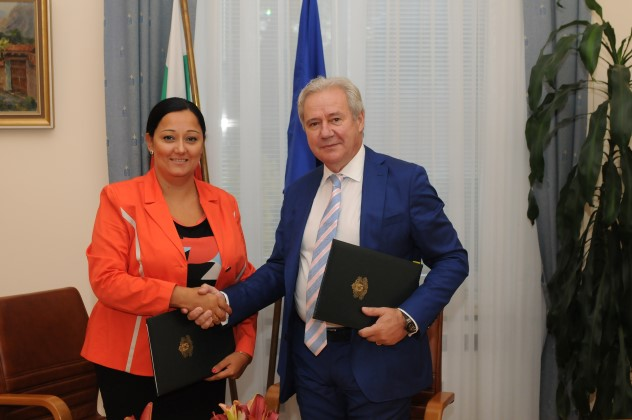 Minister Lilyana Pavlova and KRIB sign partnership agreement