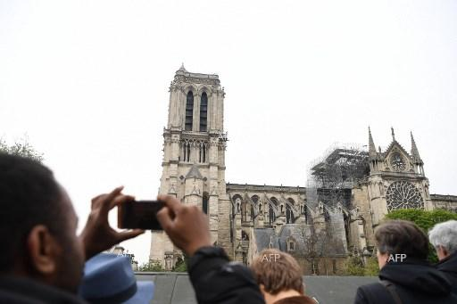 AFP: Notre-Dame fire was 'God's punishment' Serb tabloids say