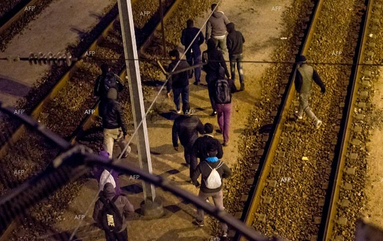 Thousands of migrants attempted to enter the Channel Tunnel.