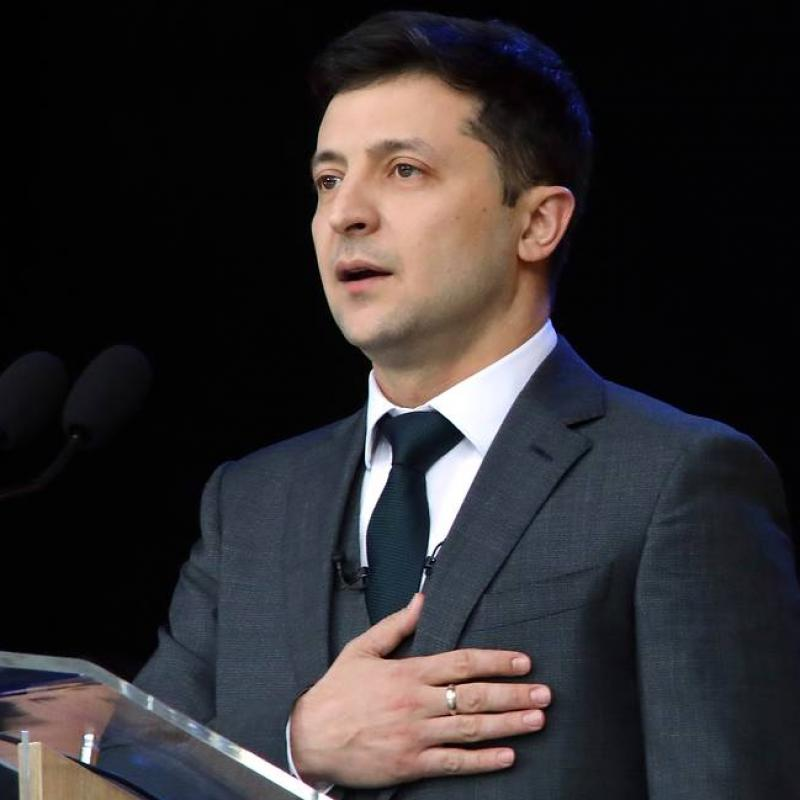 Zelensky was sworn in as President of Ukraine. May 20, 2019