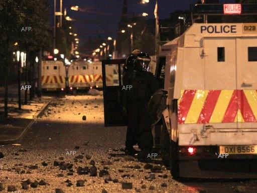 AFP: Suspected car bomb explodes in N. Ireland