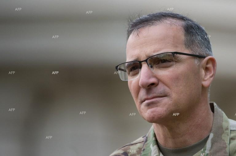 Gen. Curtis M. Scaparrotti took the helm Tuesday at U.S. European Command,