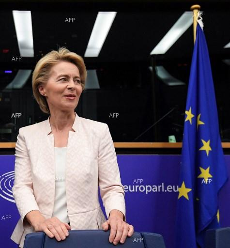EP votes Ursula von der Leyen&#8217s nomination for President of the European Commission. July 16, 2019