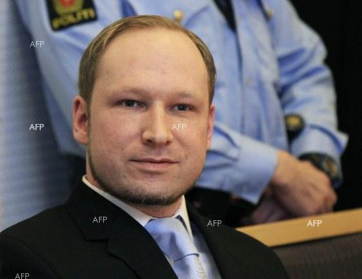 Norway Supreme Court won`t hear Breivik case on prison conditions