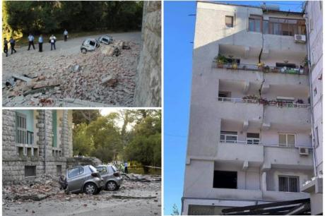Albania hit by earthquakes. September 22, 2019